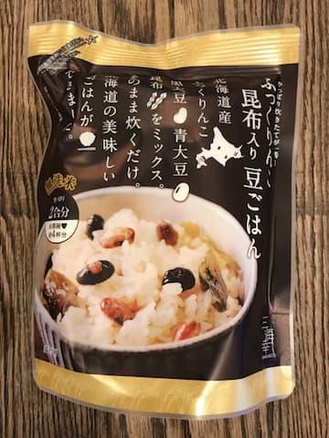 三海幸さんの豆ごはん