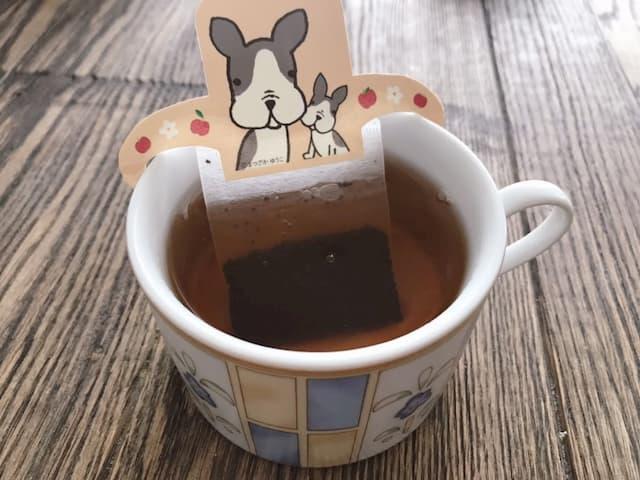 デカフェの紅茶完成