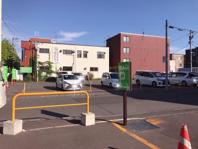 マンマチャオ駐車場