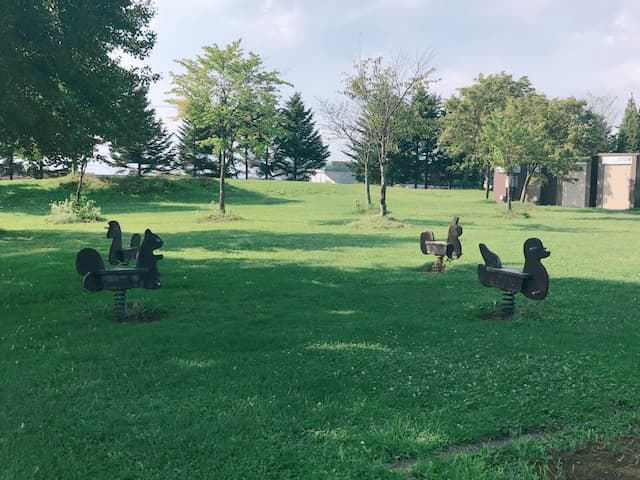 マオイの丘公園の子供が遊べる場所