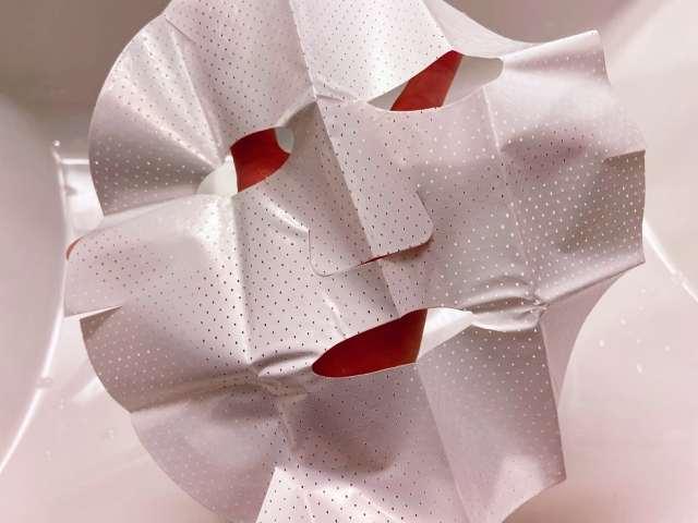 「シートマスク」の台紙