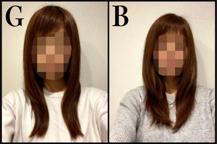 【ディープレイヤー】BとGで洗った後の髪の状態